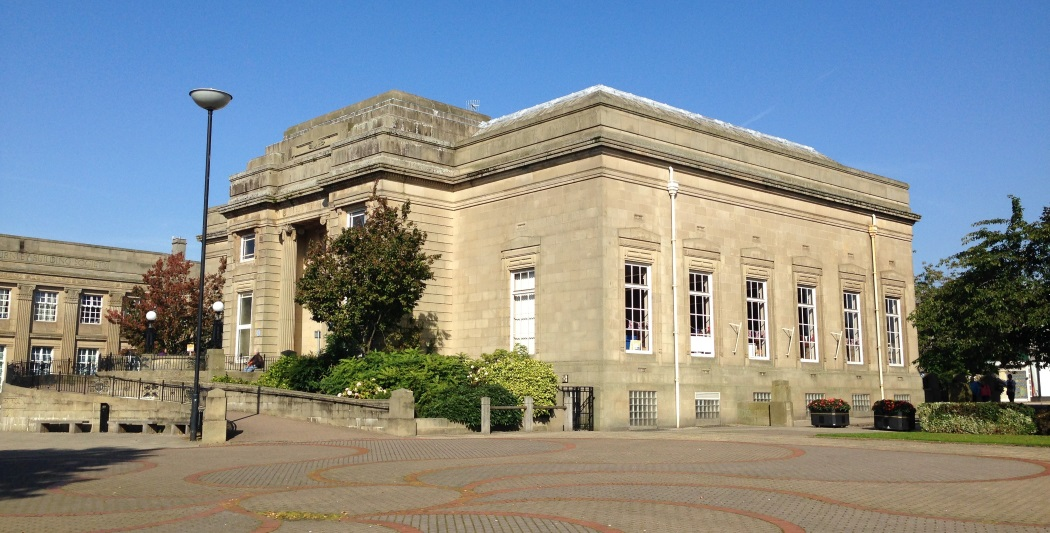 Burnley Library, Lancashire